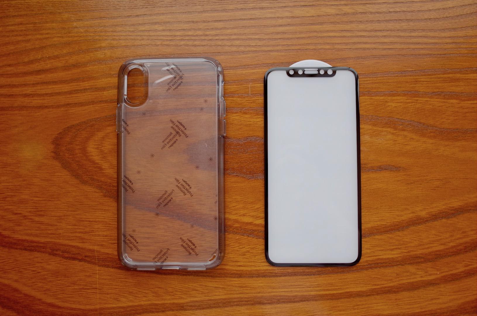 iPhone X 予約完了!ケースとガラスフィルムを買ったよ